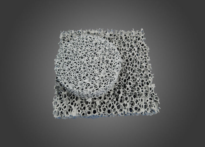 Round Silicon Carbide Ceramic , Square Honeycomb Sic Ceramic Foam Filter