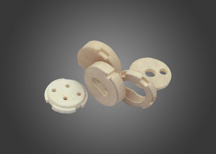Cartridge Heater Machinable Ceramic Block , Heating Element Holders Ceramic Connector Block